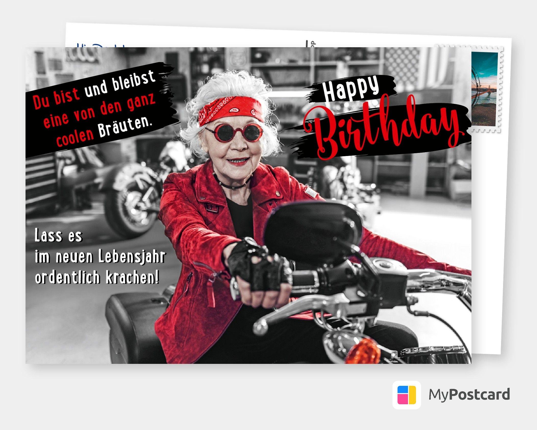 Coole Bräute   Geburtstagskarten & Sprüche 🎂🎁🎉   Echte bei Geburtstag Bilder Lustig Für Frauen