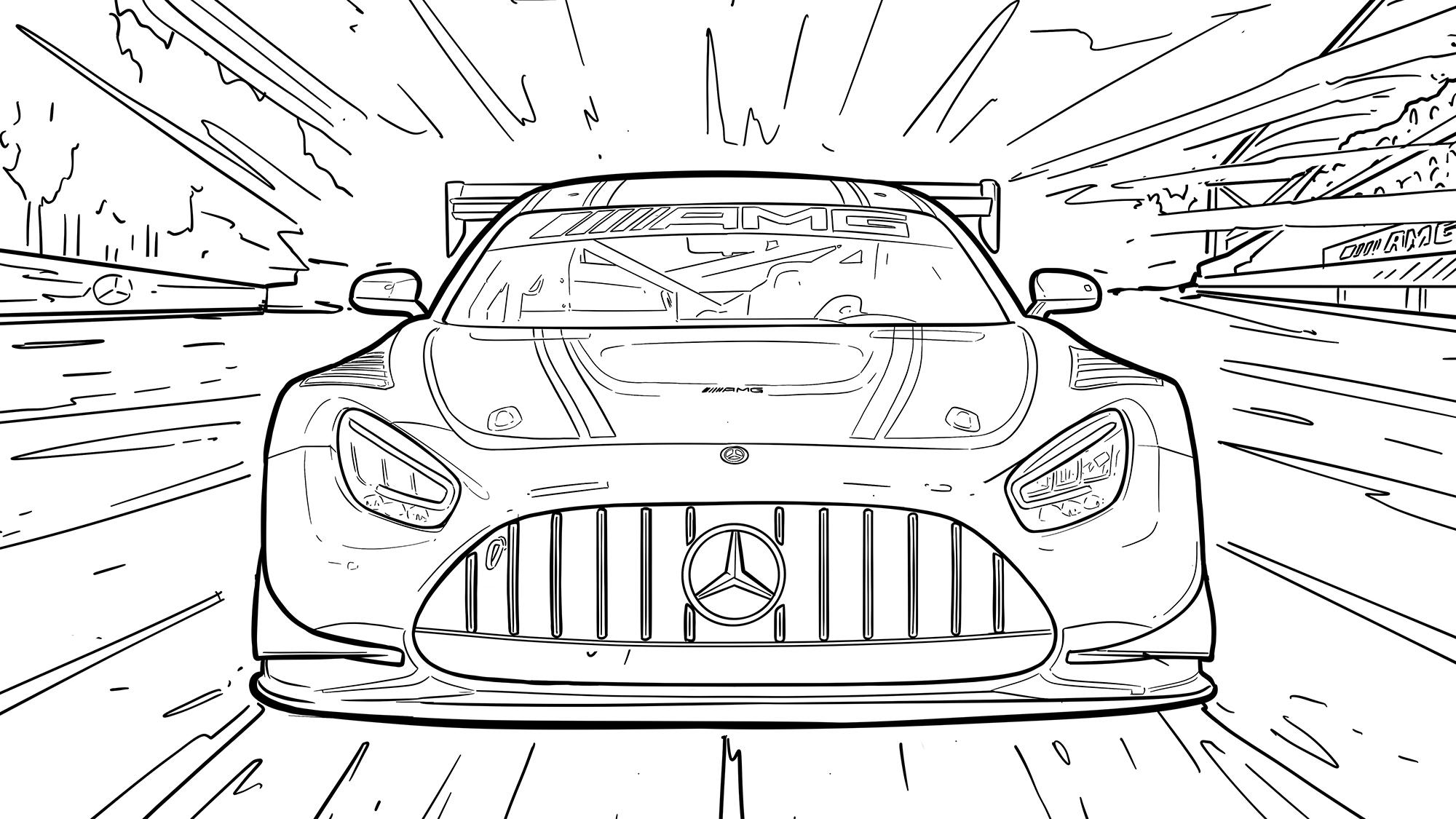 Corona-Zeitvertreib: Coole Ausmalbilder Von Heißen Autos mit Ausmalbilder Von Autos
