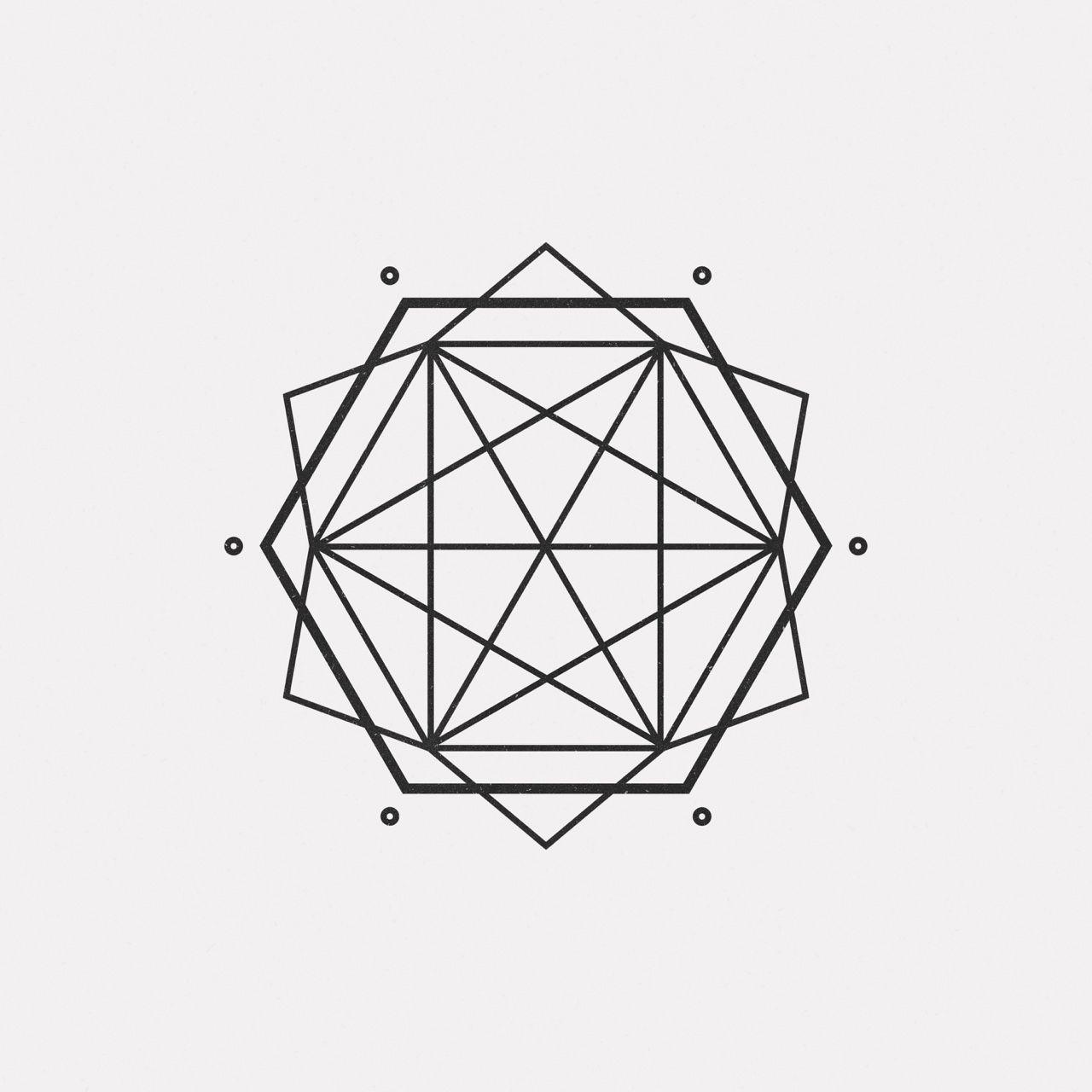 """Dailyminimal: """" #oc16-728 A New Geometric Design Every Day für Geometrisches Zeichnen Vorlagen"""