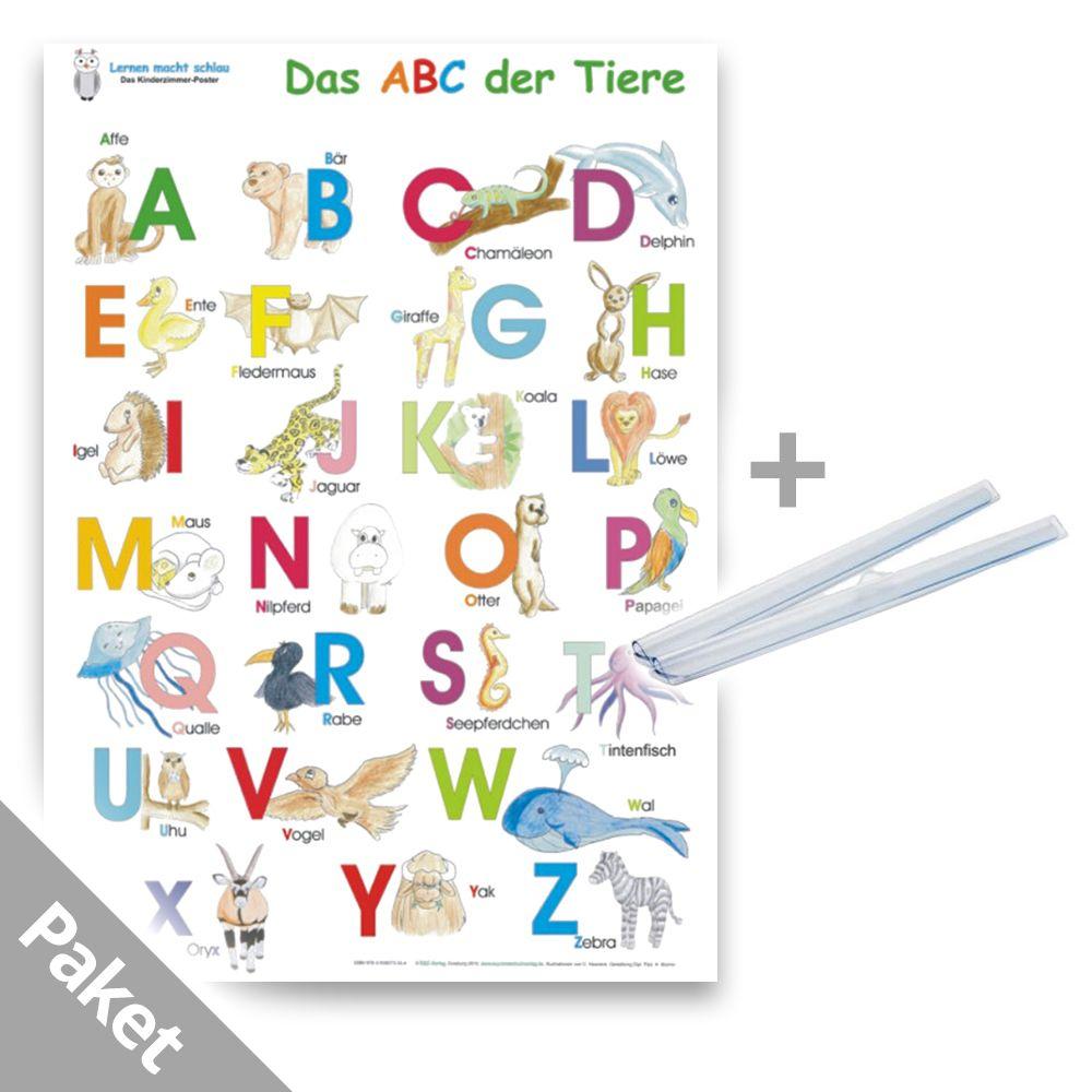 Das Abc Der Tiere Inkl. Posterschienen bestimmt für Tiere Mit Anfangsbuchstaben A