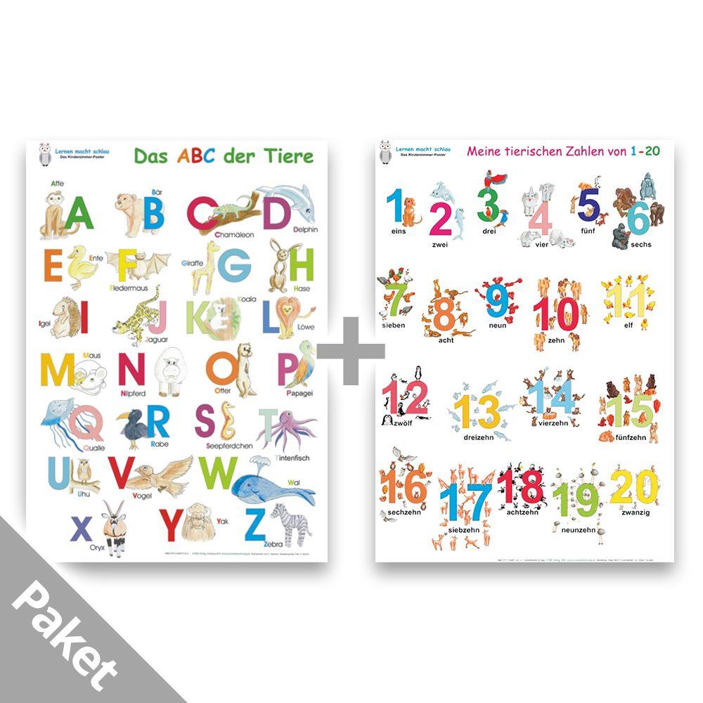 Das Abc Der Tiere + Meine Tierischen Zahlen in Tiere Mit Anfangsbuchstaben A