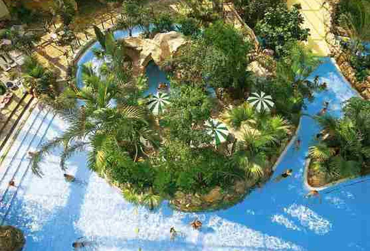 Das Aqua Mundo Im Center Parcs Bispingen innen Center Park Bispinger Heide Tageskarte