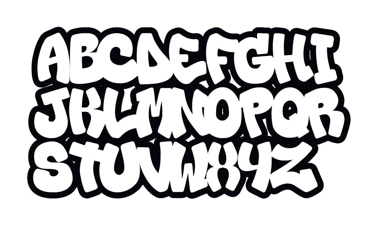 Das Beste Graffiti-Buchstaben Abc (With Images) | Lettering ganzes Graffiti Schriftarten Abc