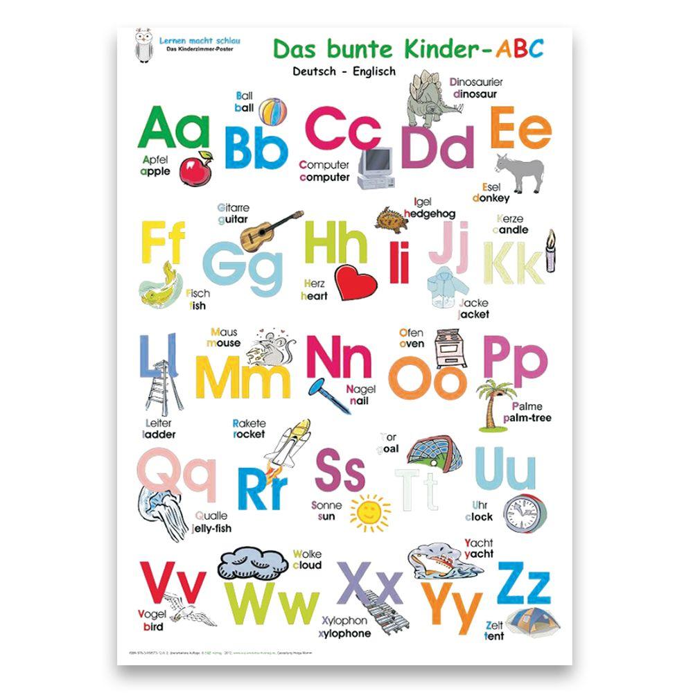 Das Bunte Kinder-Abc + Meine Tierischen Zahlen (Deutsch/englisch) mit Tiere Mit Anfangsbuchstaben A
