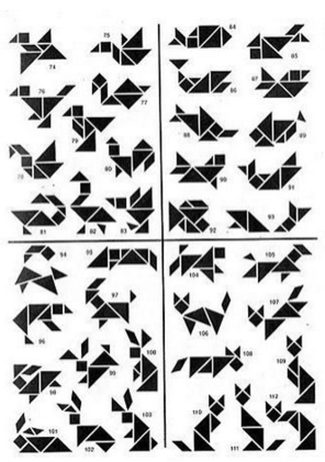 Das Chinesische Tangram Wird Bei Uns Vom Klassischen Lege bei Tangram Figuren