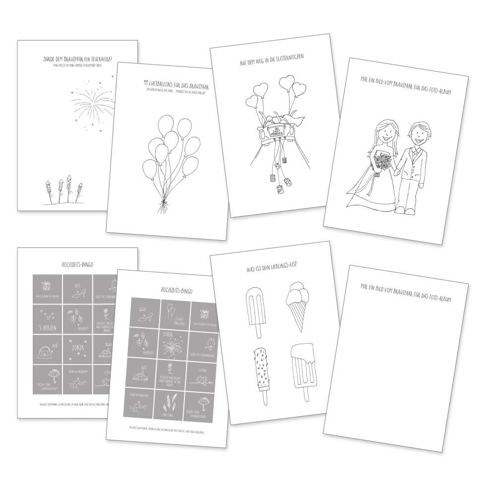 Das Coolste Hochzeitsmalbuch Für Die Kleinen Gäste – Für verwandt mit Malbuch Hochzeit