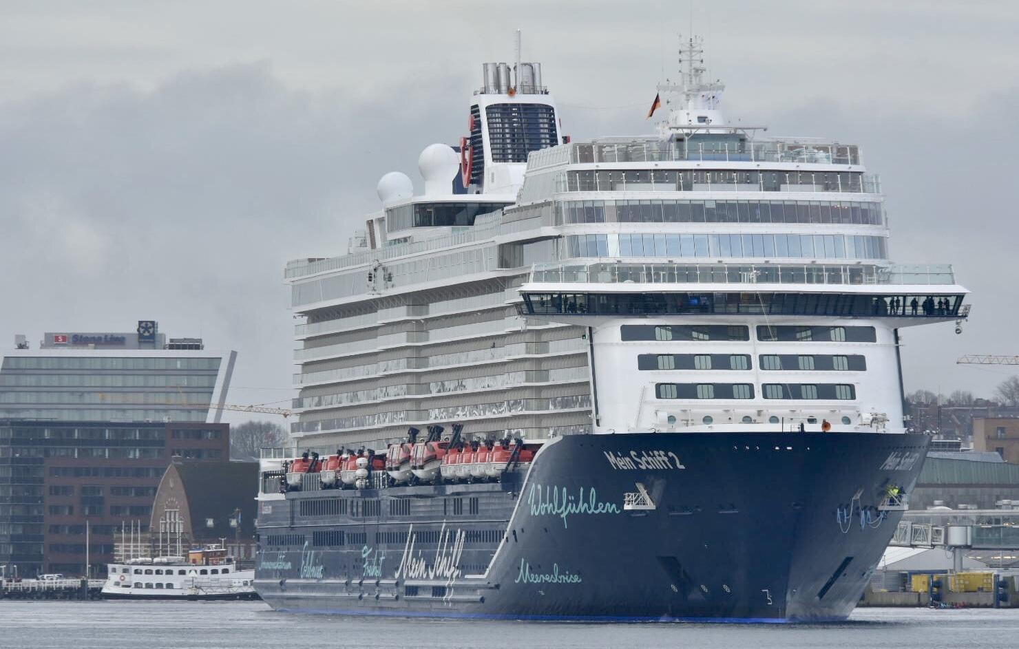 Das Designerschiff: Neue Mein Schiff 2 Erstmals In verwandt mit Schiff Zeichnung
