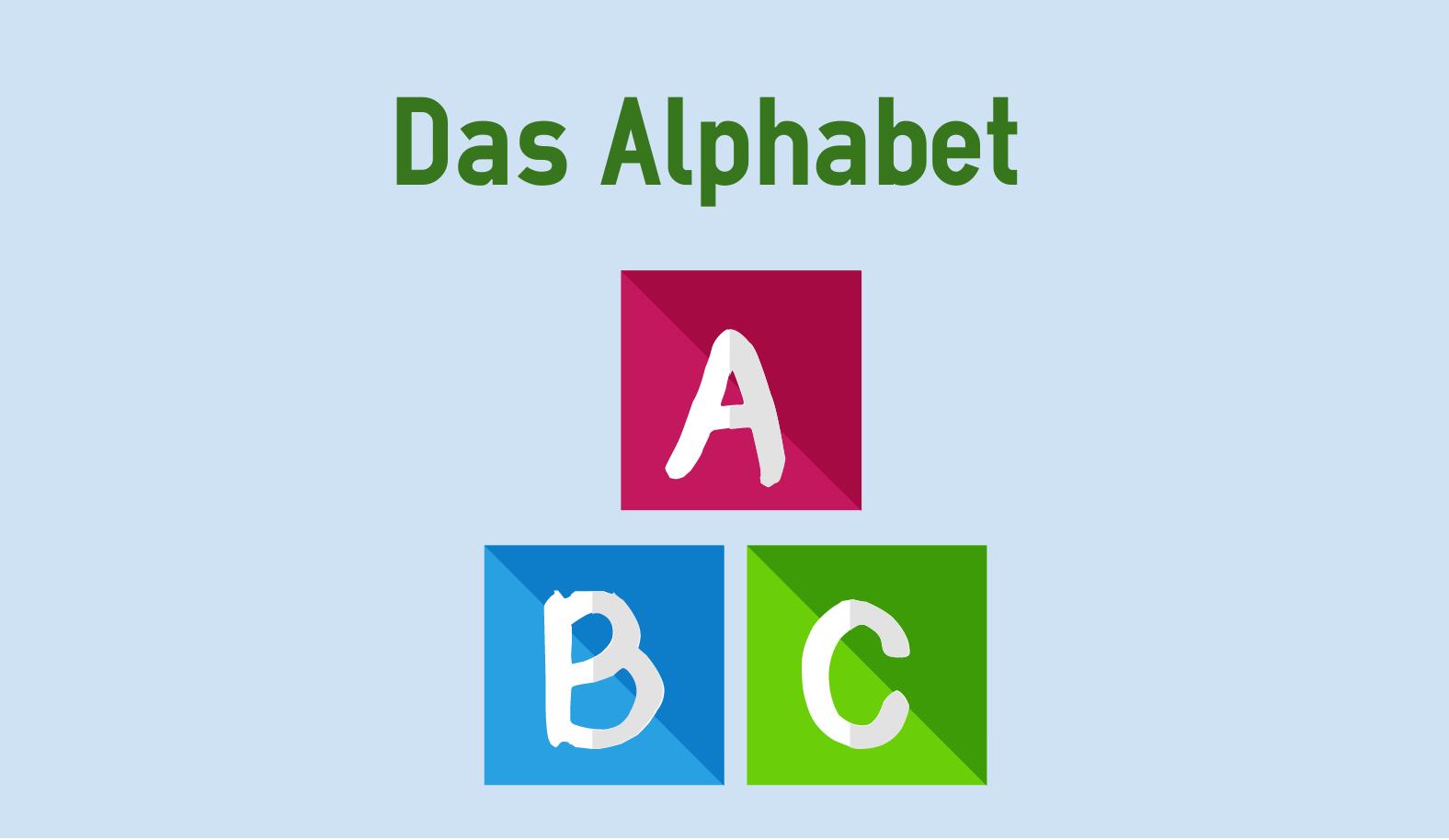 Das Deutsche Alphabet | Colanguage bestimmt für Wie Viele Buchstaben Hat Das Deutsche Alphabet