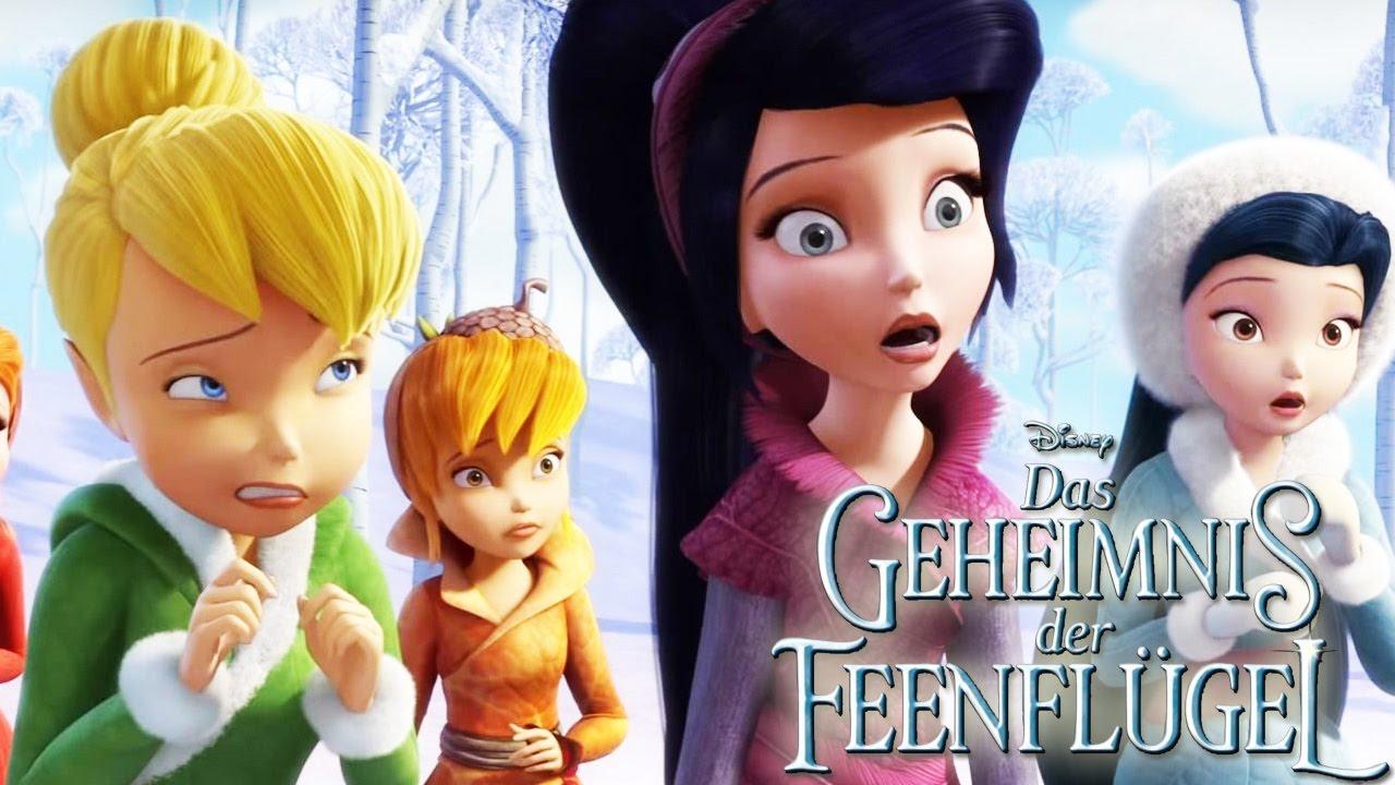 Das Geheimnis Der Feenflügel - Interstitial - Schneeballschlacht - Disney mit Ausmalbilder Tinkerbell Und Die Piratenfee