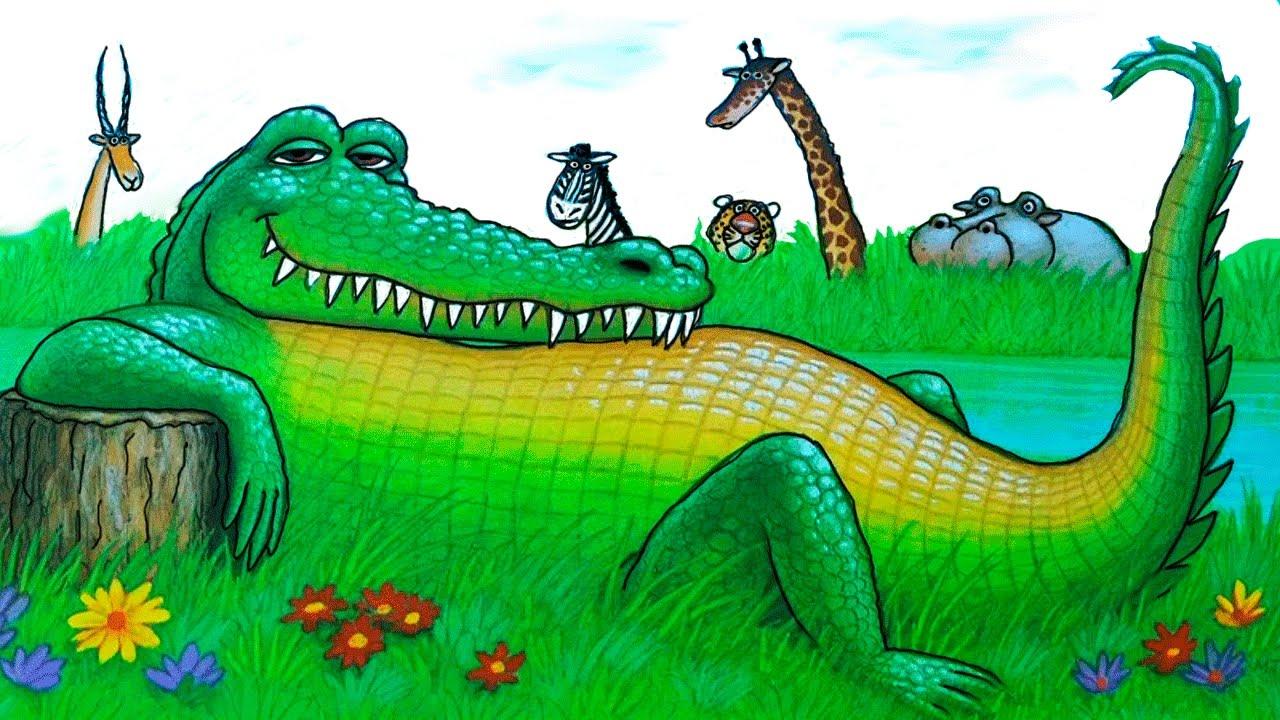 Das Sehr Unfreundliche Krokodil Geschichten Für Kinder Bilderbuchfilm  Stories And Tales verwandt mit Krokodil Bilder Für Kinder