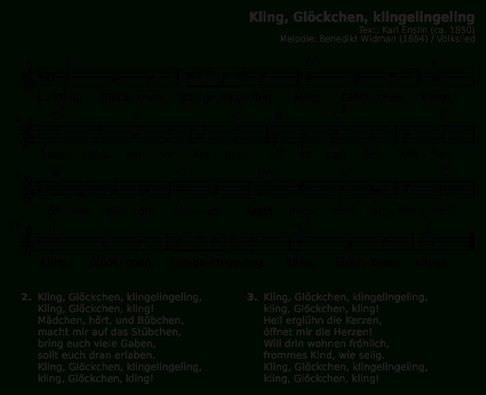 Datei:kling, Glöckchen, Klingelingeling.svg – Wikipedia für Kling Glöckchen Klingelingeling Text