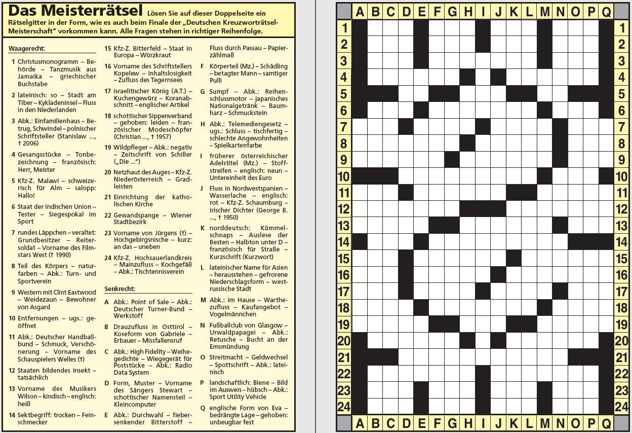 Datei:kreuzworträtsel Mit Fragezeichen-Gitter – Wikipedia über Kreuzworträtsel Muster