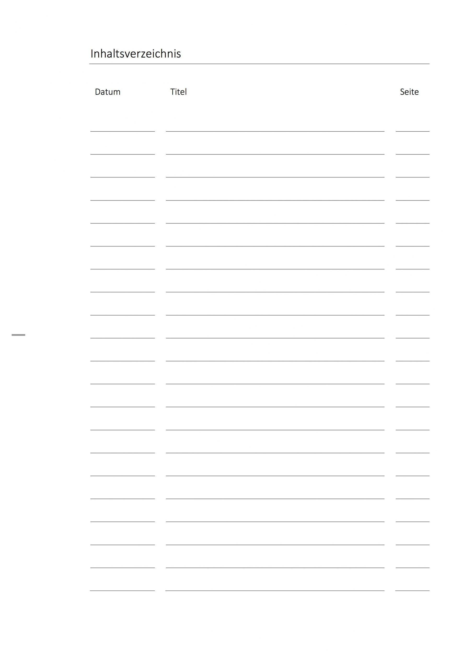 Deckblatt-Paket Biologie Mit Inhaltsverzeichnis innen Inhaltsverzeichnis Vorlage Word Zum Ausdrucken