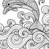 Delfin Bilder Zum Ausmalen | Mandala Ausmalen, Malvorlagen bestimmt für Delfin Bilder Zum Ausmalen