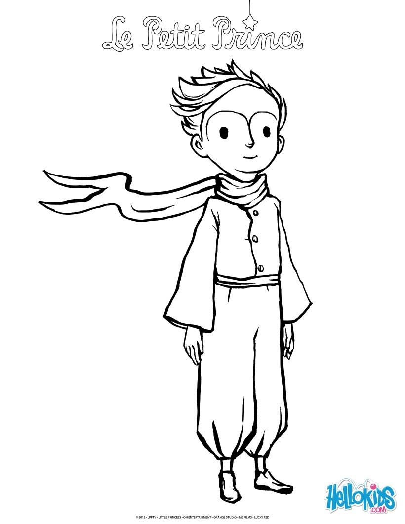 Der Kleine Prinz Zum Ausmalen - De.hellokids mit Der Kleine Prinz Bilder Zum Ausmalen
