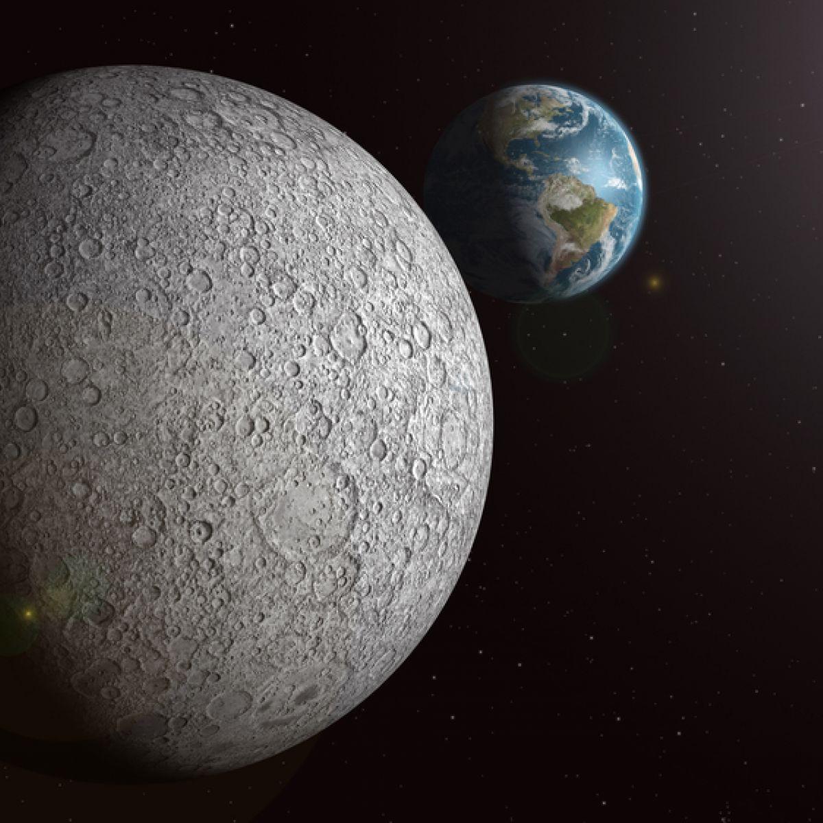 Der Mond – Ein Einflussreicher Begleiter! - Simplyscience in Was Hat Der Mond Mit Ebbe Und Flut Zu Tun