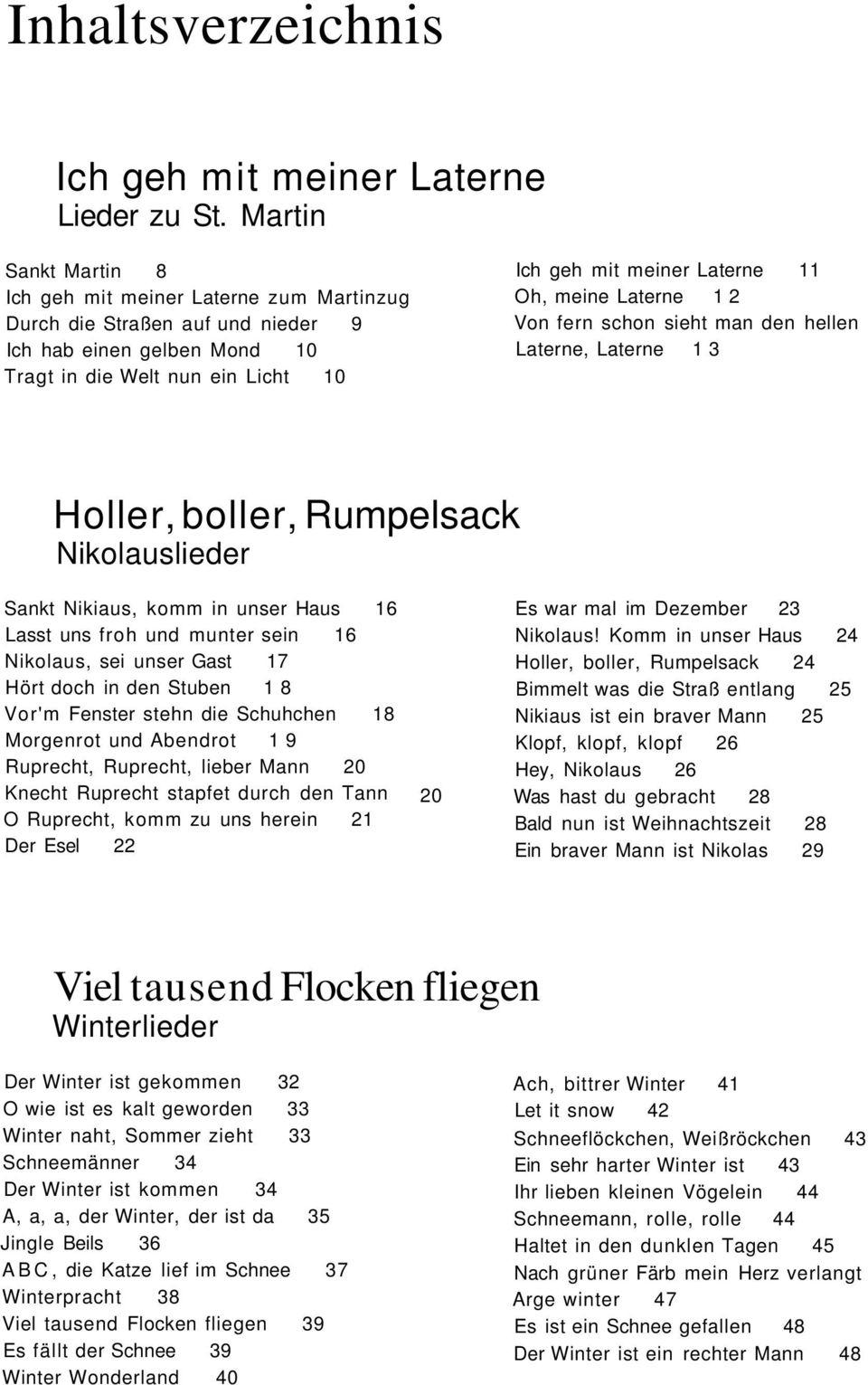 Der Weinachts - Liederbär - Pdf Free Download innen Bald Nun Ist Weihnachtszeit Text