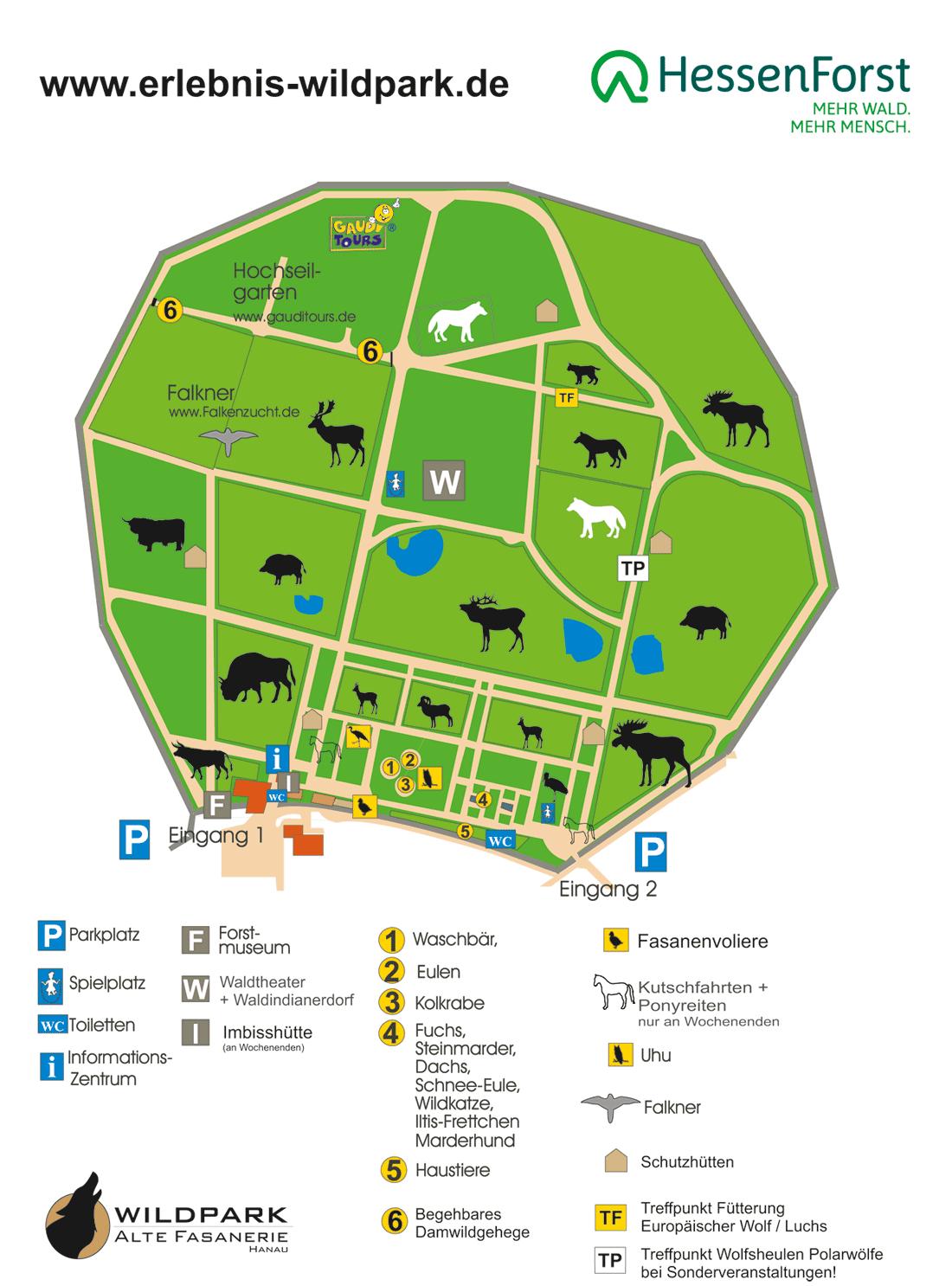 """Der Wildpark - Förderverein Wildpark """"Alte Fasanerie"""" E.v. mit Wildpark Frankfurt Oder Öffnungszeiten"""