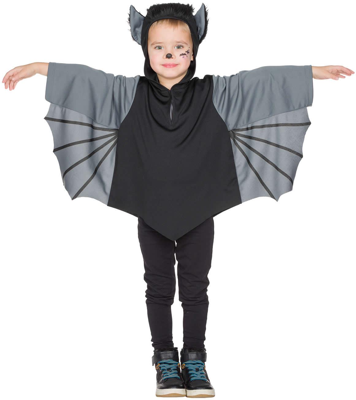 Details Zu Fledermaus Kinder Halloween Karneval Fasching Kostüm 92-128 über Fledermaus Kostüm Kind Selber Machen