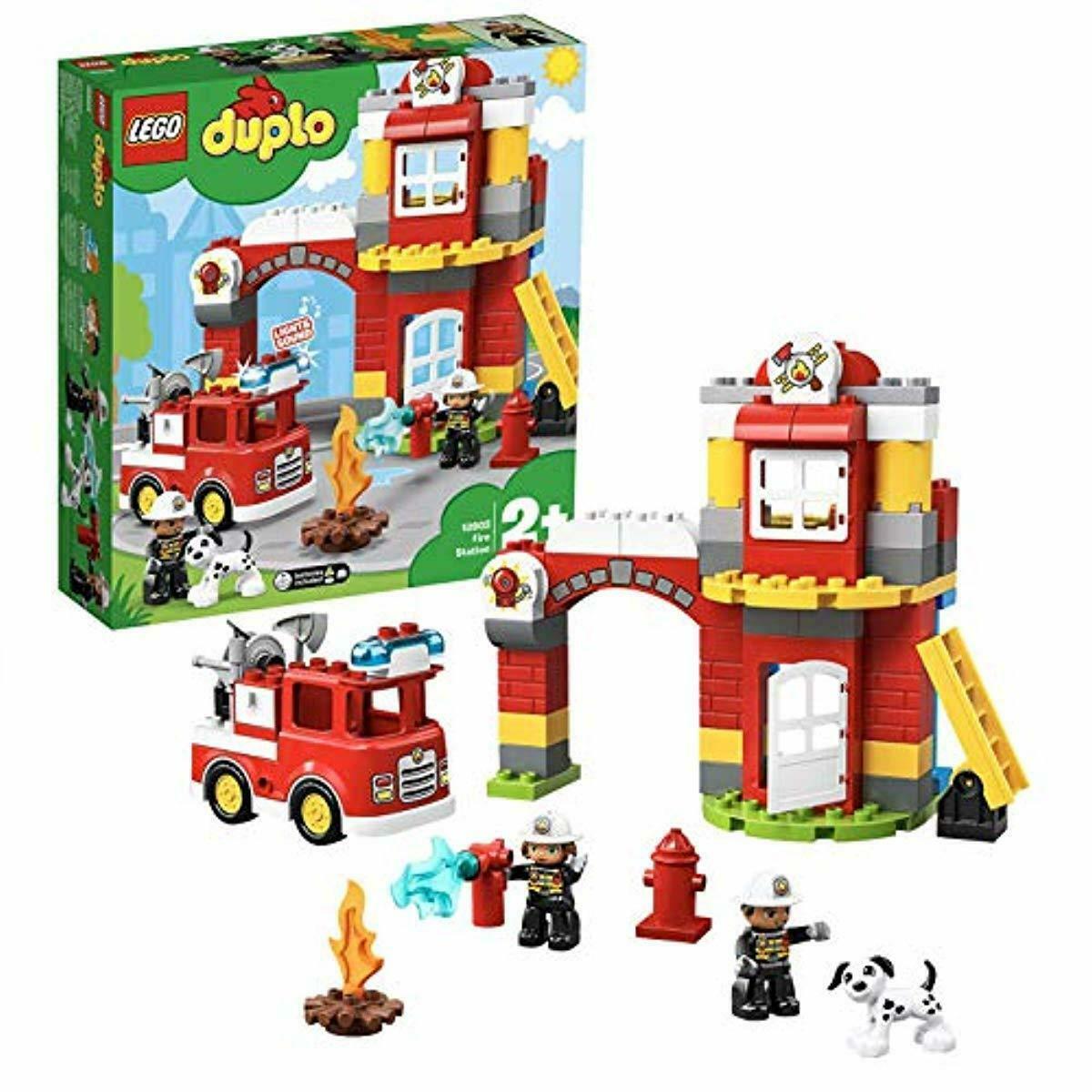 Details Zu Lego Duplo 10903 - Feuerwehrwache bestimmt für Lego Feuerwehrwache
