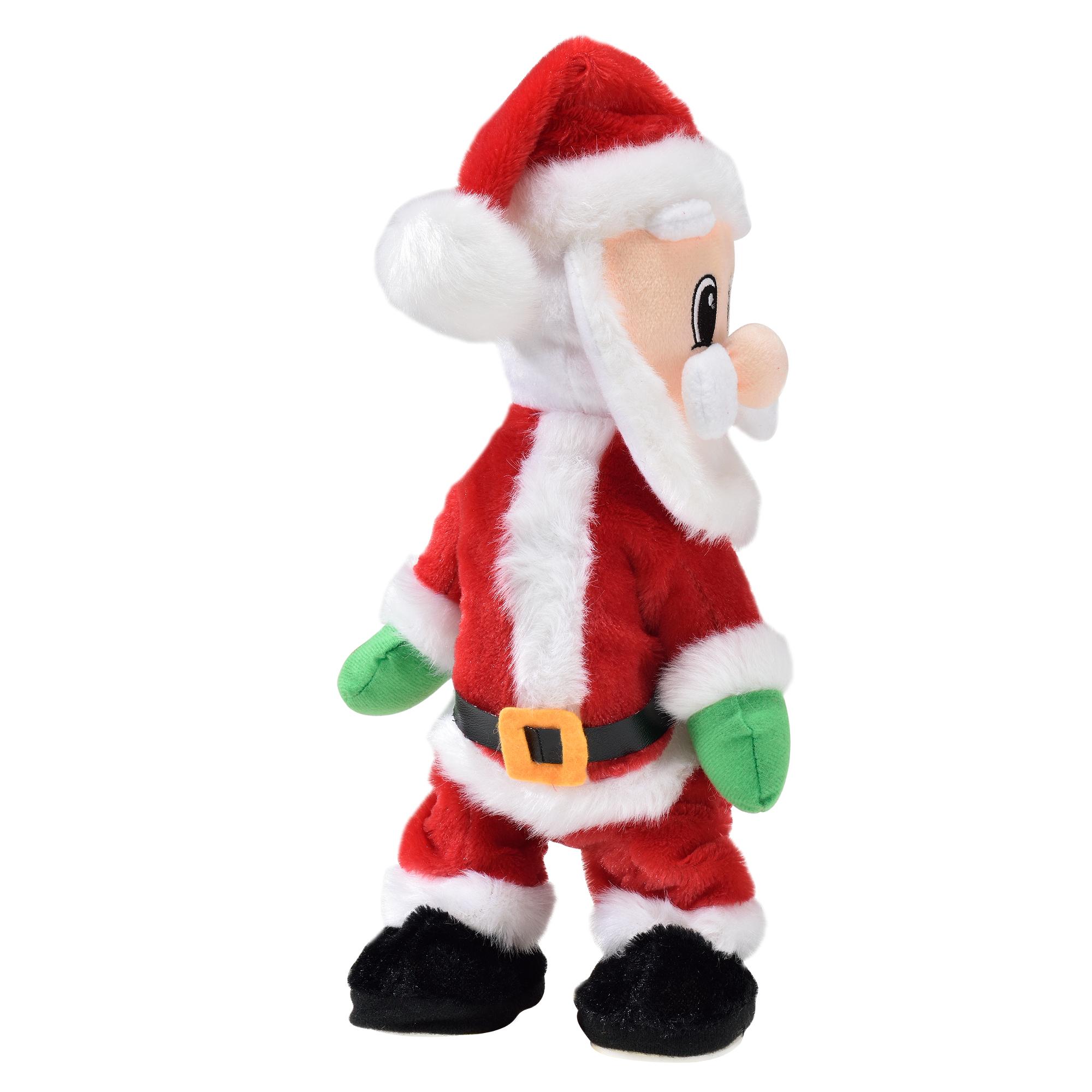 Details Zu Singender Weihnachtsmann Tanzend Weihnachts Mütze Deko  Weihnachten Rentier Baum über Welche Farbe Hatte Das Gewand Des Weihnachtsmanns Ursprünglich