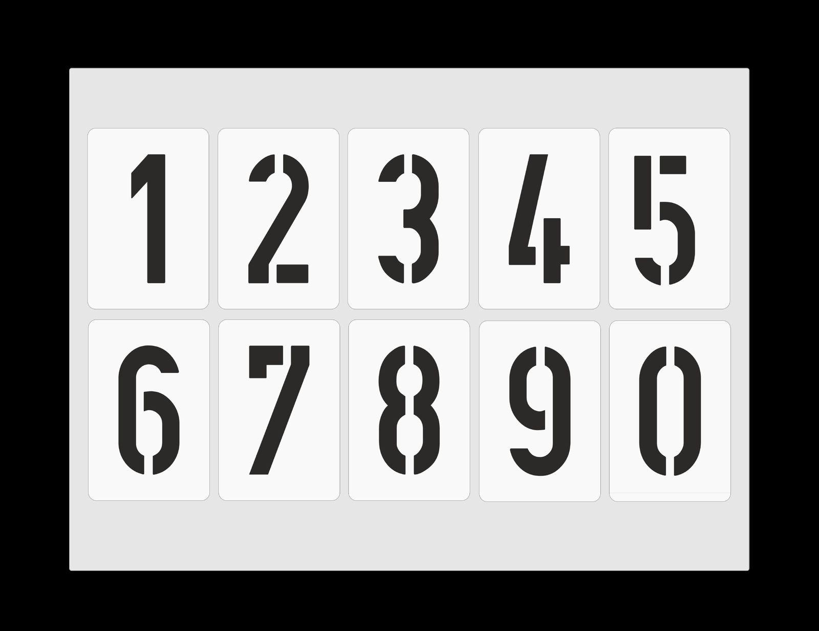 Details Zu Zahlenschablone Nr. 35 ○ Einzelne Zahlen 10Cm verwandt mit Zahlenschablonen Zum Ausdrucken Kostenlos