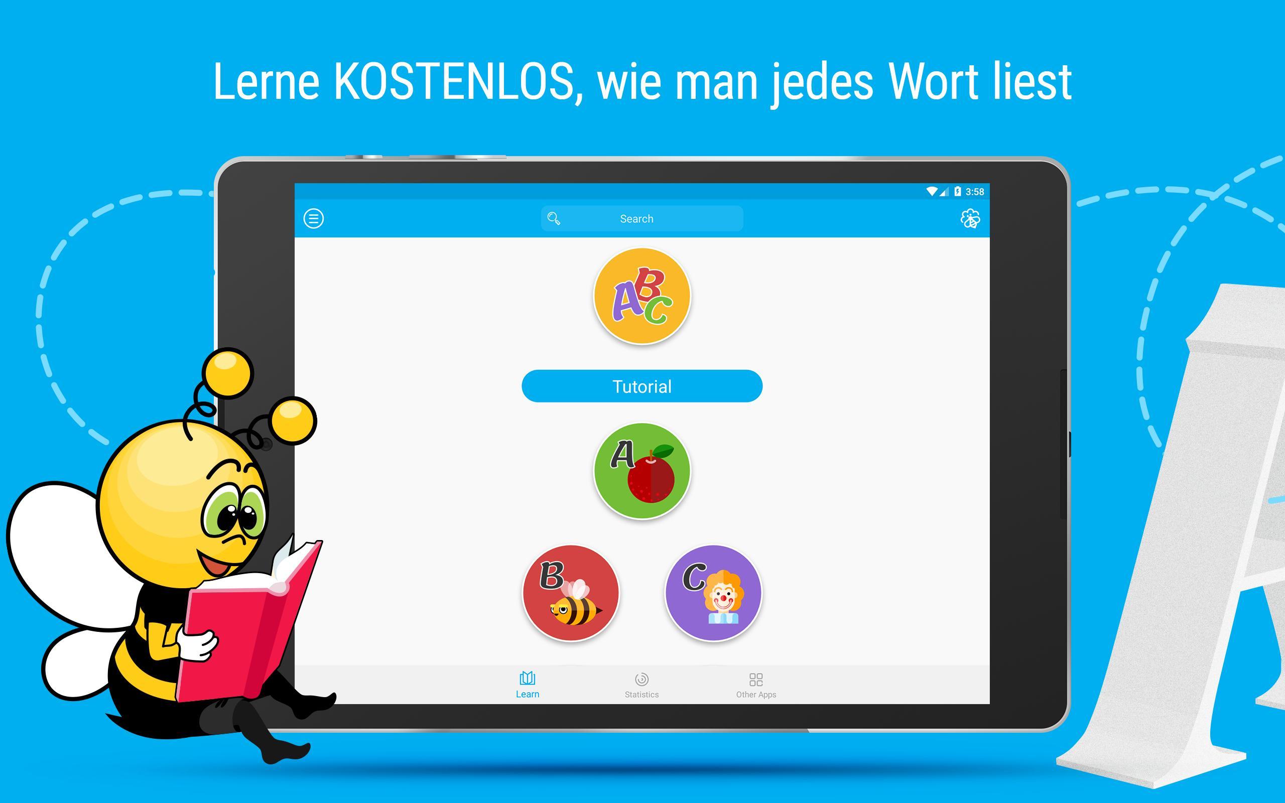 Deutsch Lernen: Alphabet, Buchstaben, Leseregeln Für Android innen Alphabet Deutsch Lernen