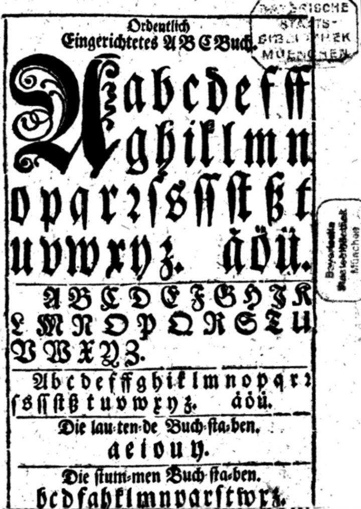 Deutsches Alphabet – Wikipedia in Wie Viele Buchstaben Hat Das Deutsche Alphabet