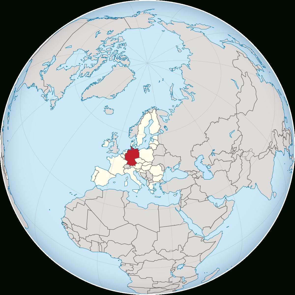 Deutschland – Wikipedia über Welche Länder Grenzen An Deutschland