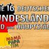 Die 16 Deutschen Bundesländer Und Ihre Hauptstädte Lernen Für Kinder  Tutorial (Deutsch) bei 16 Bundesländer Und Ihre Hauptstädte Liste
