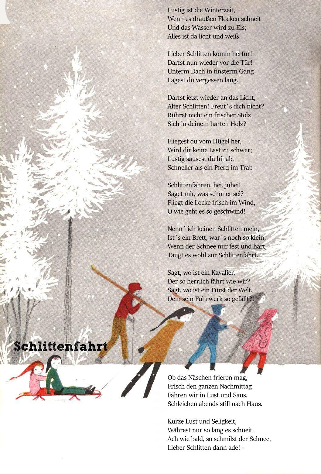 Die 19 Besten Bilder Zu Wintergedichte | Kindergedichte in Neujahrsgedicht Kinder