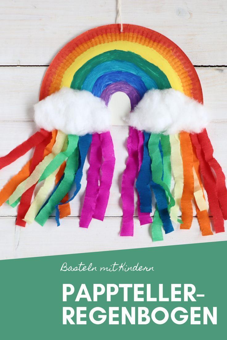 Die 320 Besten Bilder Zu Party: Einhorngeburtstag für Bastelvorlage Regenbogen