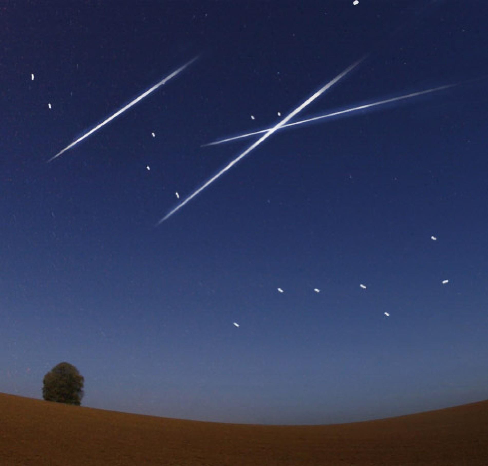 Die Beste Zeit Für Wünsche in Sternschnuppe Bilder Gratis
