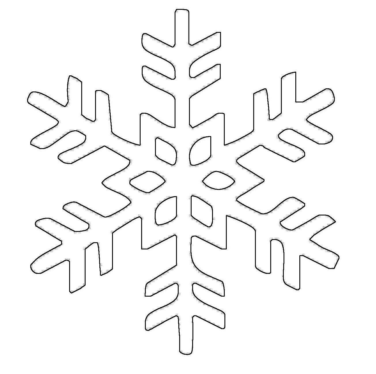 Die Besten Ideen Für Malvorlagen Schneeflocken verwandt mit Schneeflocken Vorlage