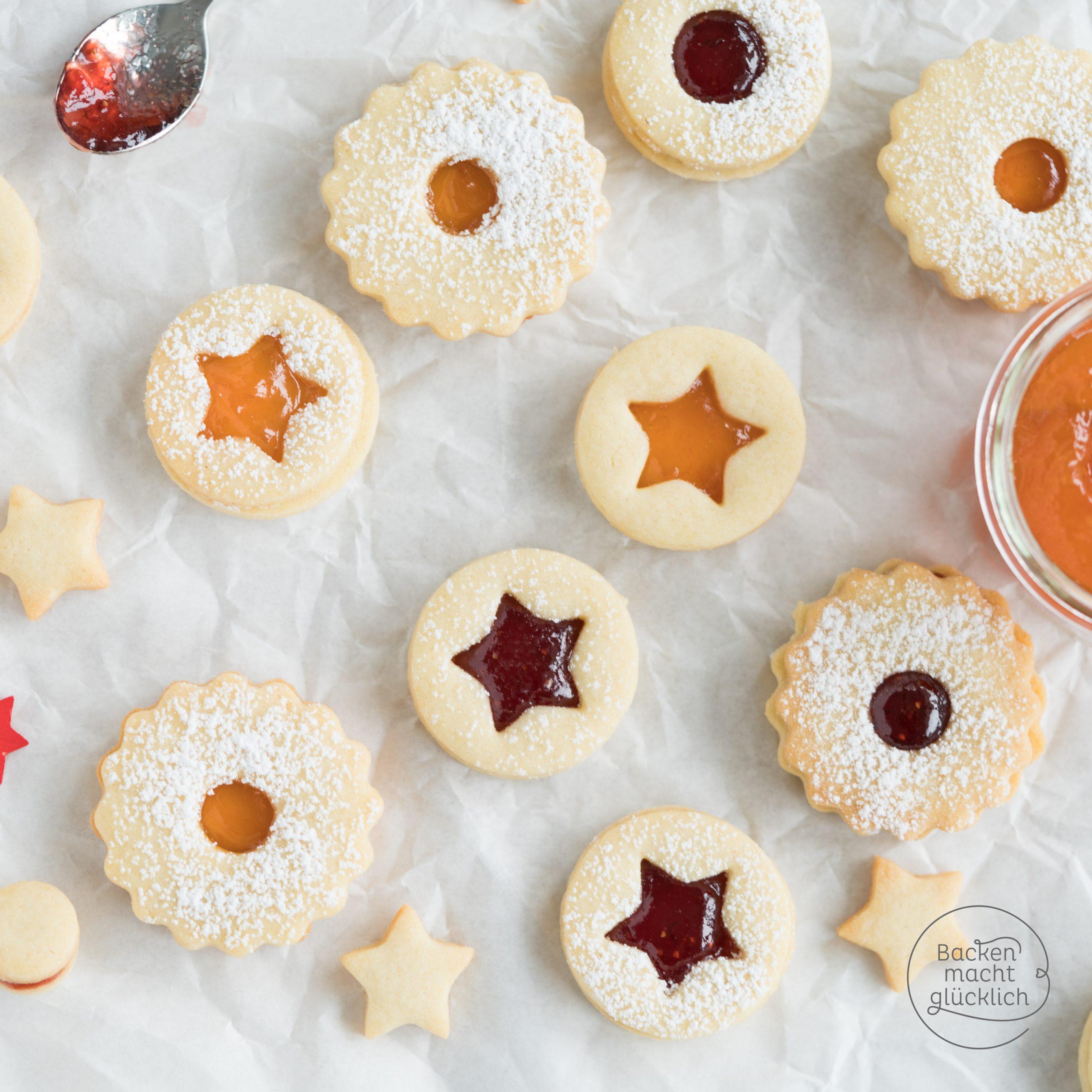 Die Besten Spitzbuben verwandt mit Plätzchen Rezepte Weihnachten Kinder