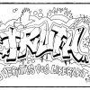 Die Besten Und Kostenlos Graffiti Ausmalbilder Zum in Ausmalbilder Graffiti