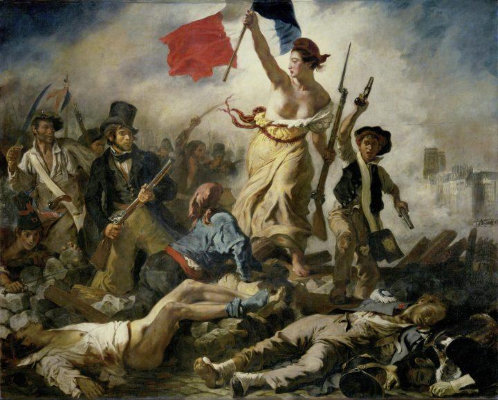 Die Freiheit Führt Das Volk – Wikipedia in Delacroix Die Freiheit Führt Das Volk