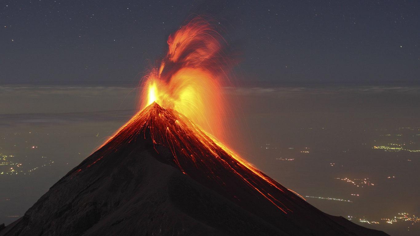 Die Größten Vulkanausbrüche Der Geschichte - Welt Der Wunder Tv für Wie Heißt Der Größte Vulkan Der Welt