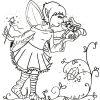 Die Kleine Elfe Elsa Wer Wohnt Da Hinter Der Elfentür für Ausmalbild Elfe
