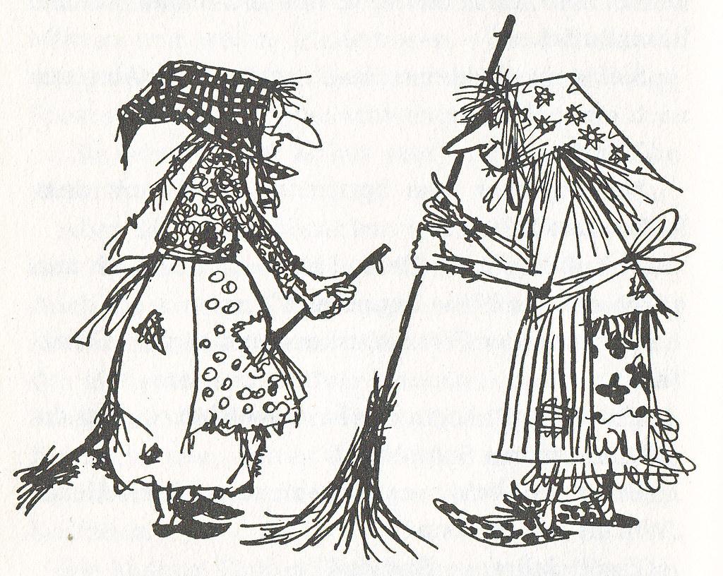 Die Kleine Hexe / 26 | Otfried Preussler / Die Kleine Hexe Z mit Die Kleine Hexe Ausmalbilder