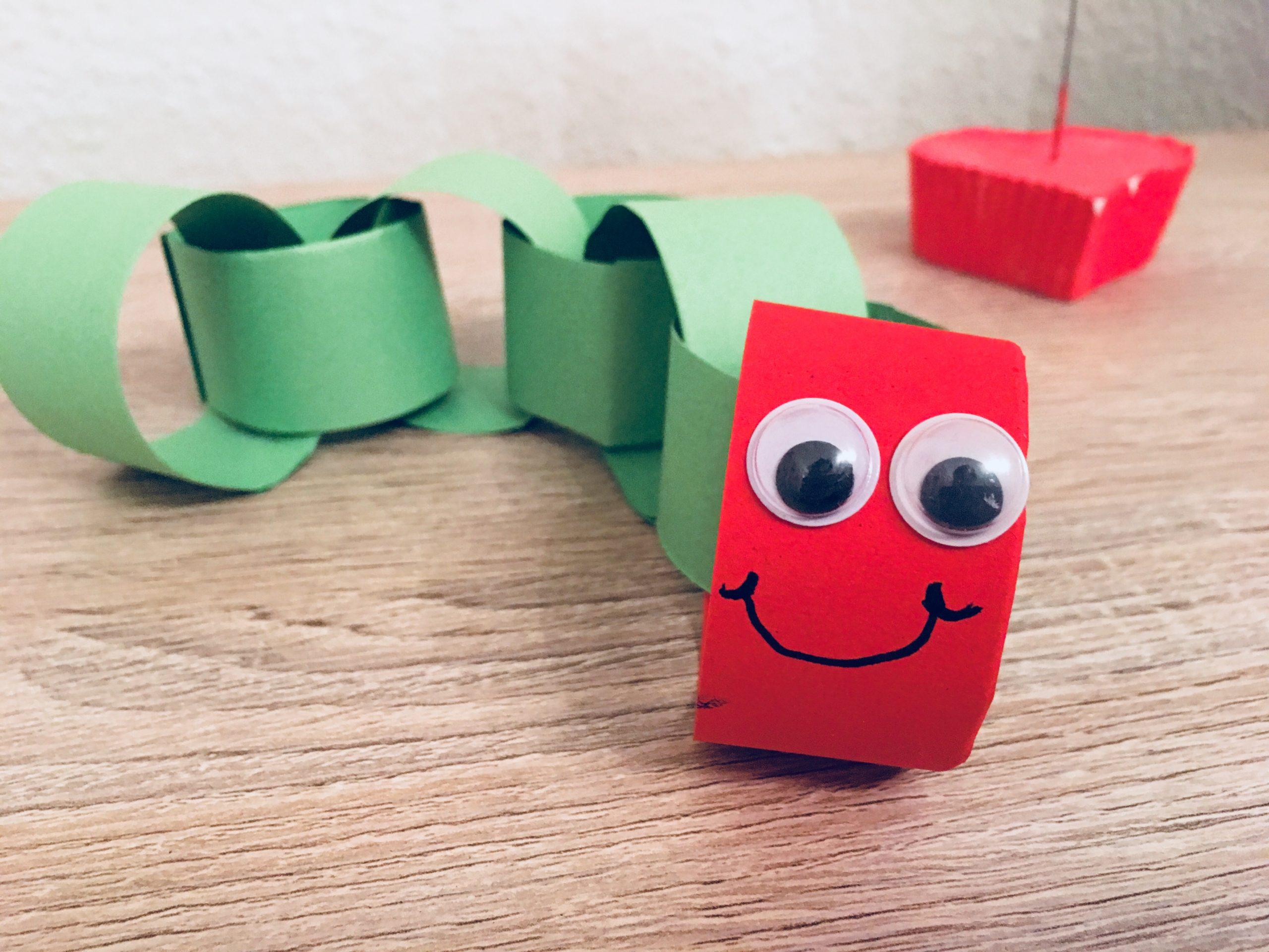 Die Kleine Raupe Nimmersatt - Basteln Mit Kindern | Der verwandt mit Bastelvorlagen Für Kleinkinder