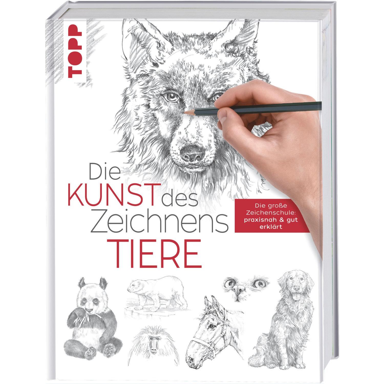 Die Kunst Des Zeichnens - Tiere Die Große Zeichenschule: Praxisnah Und Gut  Erklärt bestimmt für Zeichenschule Online