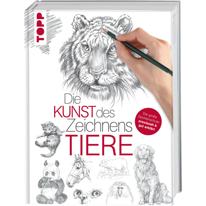 Die Kunst Des Zeichnens - Tiere Die Große Zeichenschule: Praxisnah Und Gut  Erklärt für Zeichenschule Online