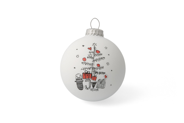Die Schönsten Bedruckten Christbaumkugeln Mit Logo - Hier bei Weihnachtskugeln Comic