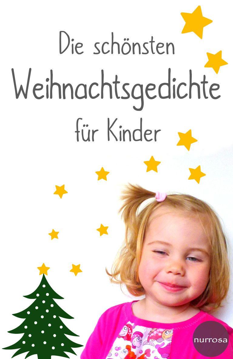 Die Schönsten Weihnachtsgedichte Für Kinder (Mit Bildern bei Einfache Weihnachtsgedichte Für Kindergartenkinder