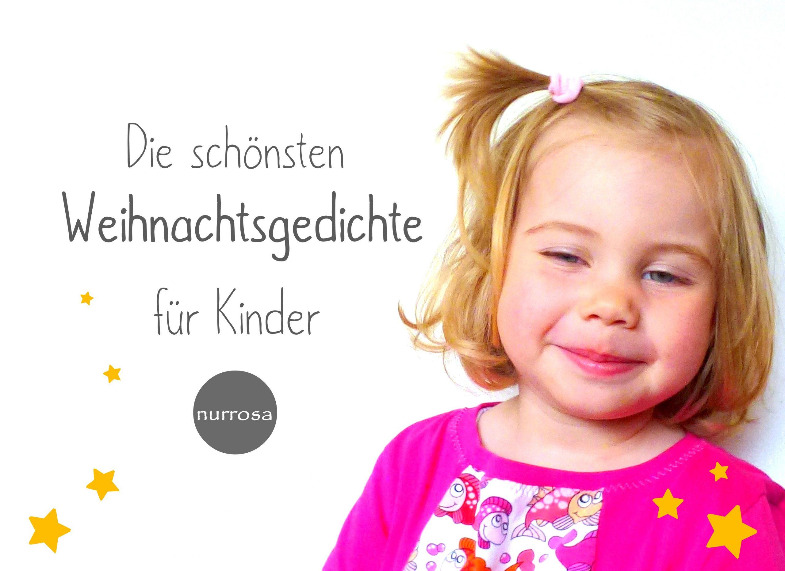 Die Schönsten Weihnachtsgedichte Für Kinder – Nurrosa bei Weihnachtsgedichte Für Kindergarten