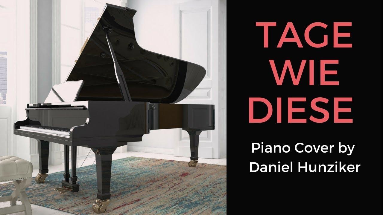 Die Toten Hosen - Tage Wie Diese - Piano Cover - Instrumental in Tage Wie Diese Noten Kostenlos