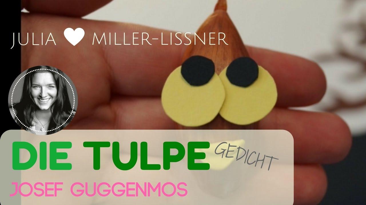 Die Tulpe Von Josef Guggenmos - Frühlingsgedicht Für Kinder innen Josef Guggenmos Gedichte Grundschule
