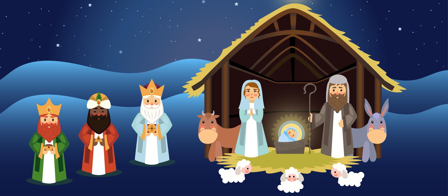 Die Weihnachtsgeschichte Für Kinder Erzählt - Katholisch.de für Weihnachtsgeschichte Für Kindergartenkinder Zum Nachspielen