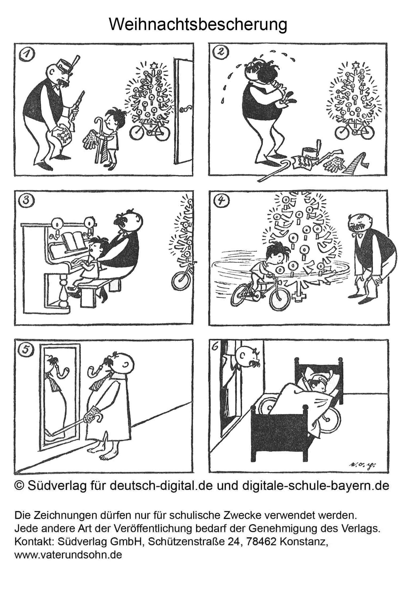 Digitale Schule Bayern - Portal ganzes Beispiele Bildergeschichten 4 Klasse Volksschule